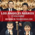 """Toca melodías """"Y Volveré"""" de los Ángeles negros"""