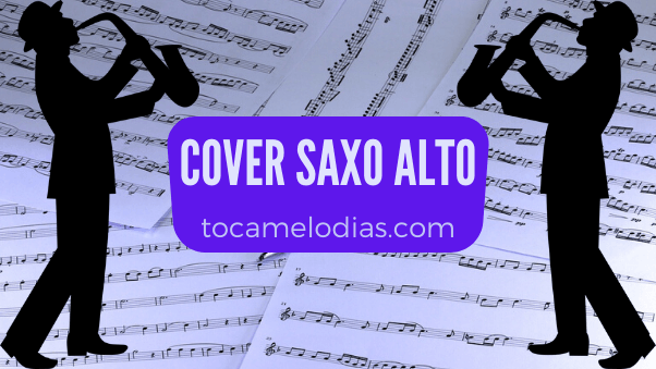 partitura cover saxo alto