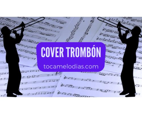partitura cover trombón